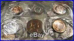 (10) 1961 1962 1963 1964 Proof Set US Silver Coin Lot SELLING CHEAP! #4