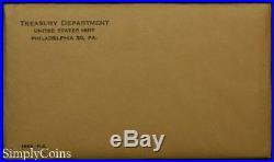 (10) 1963 Proof Sets Original Envelope & COA US Mint 90% Silver Coin Lot #2