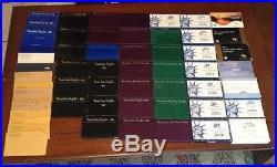 1956-2017 US Mint Clad Proof Set Run 1992-2017 Silver Proof Set Run Massive Set
