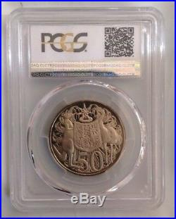1966 Australian First Decimal Proof Set- PCGS Graded Set Coins PR68/69