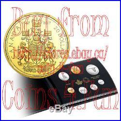 1967-2017 Canada Centennial Pure Silver 7-Coin Proof Set Alex Colville Desigs