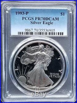 1986 2018 American Silver Eagle 38-pc Complete Date Set PCGS PR70 DEEP CAM