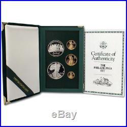 1993-P US Gold and Silver The Philadelphia Set