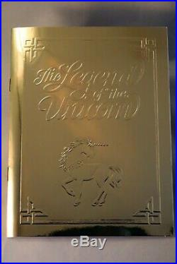 1994 CHINA UNICORN PROOF, set 4 piece, 25, 10, and 5 Yuan gold 10Yuan 1oz silver