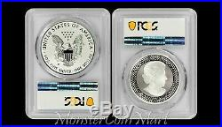 2-Piece Set 2019 Pride of Two Nations Set PCGS PR70 FIRST DAY OF ISSUE