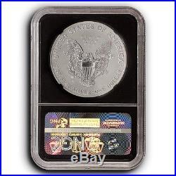 2006-P Reverse Proof Silver Eagle 20th Anniversary Set NGC PF69 (Black Core)