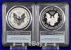 2012 S Silver Eagle 75th Anniversary 2 Coin Proof Set PCGS PR 69 First Strike