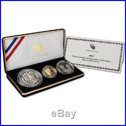 2013 US 5-Star Generals 3-Coin Commemorative Proof Set