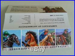 2014 $1 Legendary Horses of Australia Silver Proof 4 Coin Collection Set