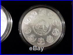 2015 Mexican Libertad 3 Coin Silver Anniversary Set-Proof, Reverse Proof, BU