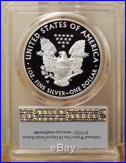 2016-w American Silver Eagle $1 First Strike Ltd Edition Pr Set Pcgs Pr70dcam
