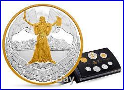 2017 Pure Silver Proof Set Classic Coins Canada 150th Anniversary Confederation