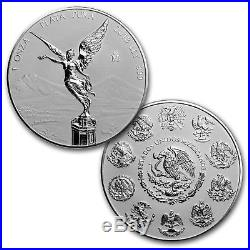 2018 Mexico 2-Coin Silver Libertad Proof/Reverse Proof Set SKU#162428