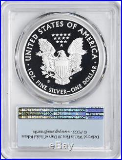 2018-S Silver Eagle Dollar PR70DCAM PCGS Limited Edition Proof Set FS Flag
