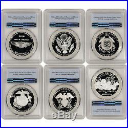 2018 US World War I Silver Six Coin & Medal Proof Set PCGS PR69 First Strike