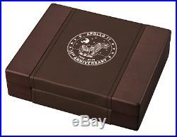 2019 3oz 50th Anniv. APOLLO 11 American Silver Eagle 999 Coin/Bar Set Box/COA