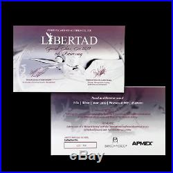 2019 Mexico 2-Coin Silver Libertad Proof/Reverse Proof Set SKU#186737