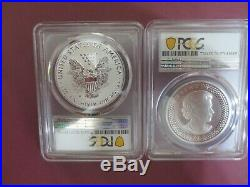 2019 Pride of Two Nation PCGS PR70 Royal Canadian Mint Set TWO COINS SET (FDOI)