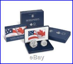 2019 Pride of Two Nations 2 Coin Set Limited Edition (U. S Mint Release)