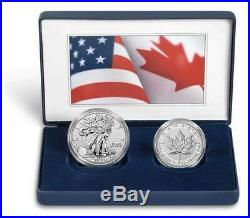 2019 Pride of Two Nations Limited Edition 2-Coin Set U. S. Mint