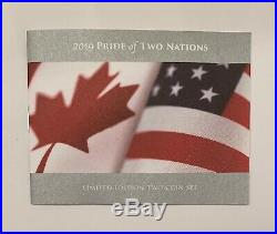 2019 Pride of Two Nations Limited Edition Two-Coin Set Canada Version