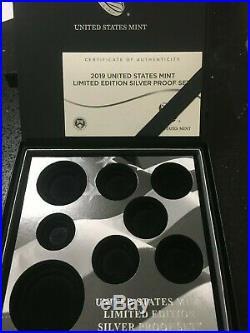 2019-S Limited Edition Proof Set $1 American Silver Eagle PCGS PR70DCAM FDI Flag