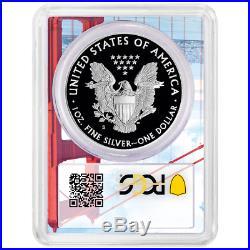 2017-S Proof $1 American Silver Eagle Congratulations Set NGC PF70UC Black ER La