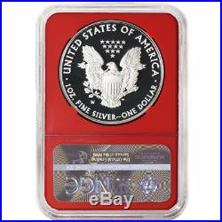 2019-W Proof $1 American Silver Eagle 3pc. Set NGC PF70UC FDI First Label Red Wh