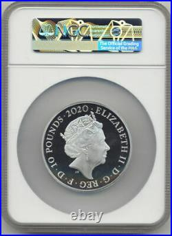 2020 James Bond 5oz Silver Proof PF70UC Coin