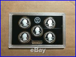 2020 S SILVER PROOF Set w BOX COA & W Reverse Jefferson Nickel 20RH 11 Coins
