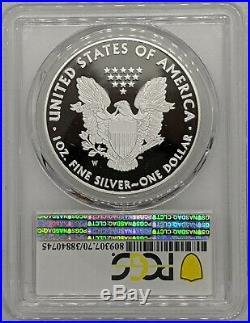 2020 W Silver Eagle Congratulations Set $1 PCGS PR70DCAM FDOI Fun Show