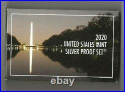 2020 s 11-piece silver proof set with W-minted nickel