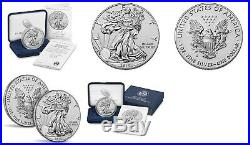 American Eagle 2019 One Ounce Silver Enhanced Reverse Proof Coin U. S. Mint