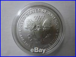 American Eagle 20th Anniversary Silver 3 Coin Set 2006 With Reverse Proof & COA