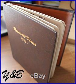 Complete Set 1946 2016 Roosevelt Dime Dansco 1946-1964 Silver +1 Free Bu Proof