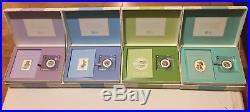 ERROR PETER RABBIT & TOM KITTEN, RM 2017 Silver Proof 50p Coins Gift Set BUNC