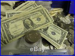 Estate Lot Gem Bu Pcgs/ngc Proof Sets Gem Bu Silver Gold Currency 70 Years #%50