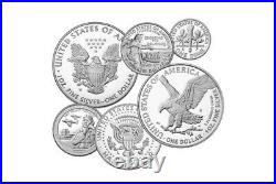 Limited Edition 2021 Silver Proof Set American Eagle Collection (21RCN)