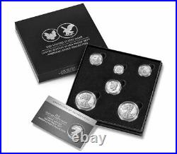 Limited Edition 2021 Silver Proof Set American Eagle Collection 21RCN SEALED