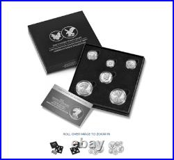 Limited Edition 2021 Silver Proof Set American Eagle Collection 21RCN (Sealed)