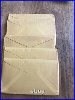 Lot of 5 1964 Silver Proof Set US Mint OGP Sealed Unopened Treasury Envelope