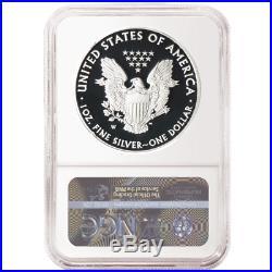 Presale 2020-W Proof $1 American Silver Eagle 3 pc. Set NGC PF70UC FDI Trump L