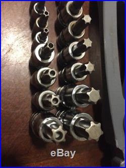 Silver Eagle Tool Torx Hex Inverted Security Tamper Proof Ball Socket Master Set