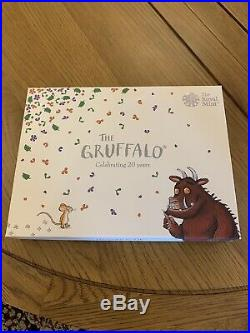 The Gruffalo 2019 Silver Proof 50p Coin Gift Set BNIB, COA 23/1000 Free p+p