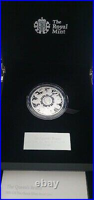 The Queen's Beasts 2021 UK Ten Ounce 10oz Silver Proof Coin The completer coin