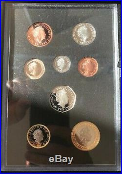 UK 2017 Collector Edition Silver Proof Coin Set Boxed with COA